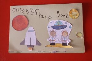 Space lap book