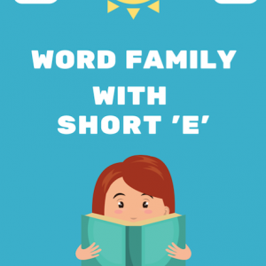 Word Family with short 'e'