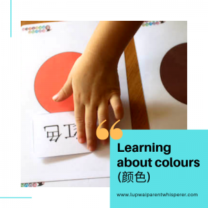 Learning about colors (颜色)