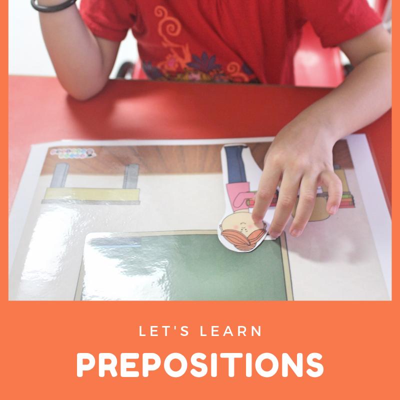 Let's learn prepositions!