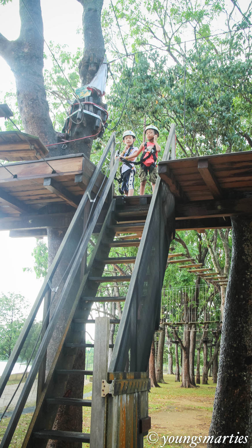 Our little adventure at Forest Adventure!