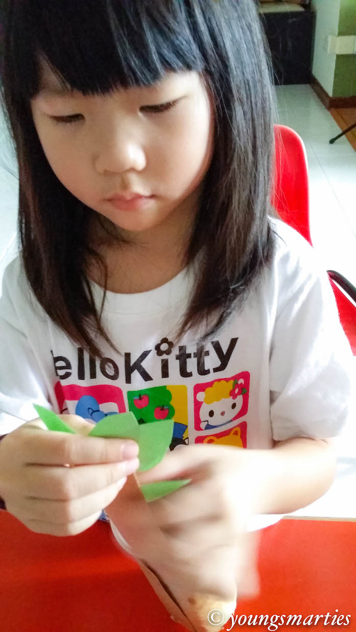Learning letter K