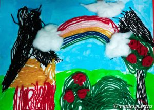 Yarn artwork