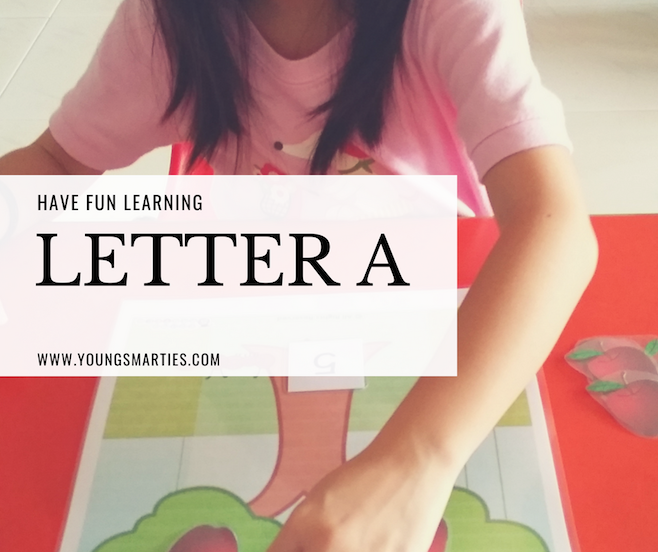 Letter Aa revision