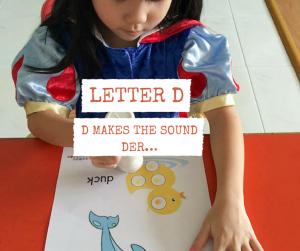D makes the sound der…