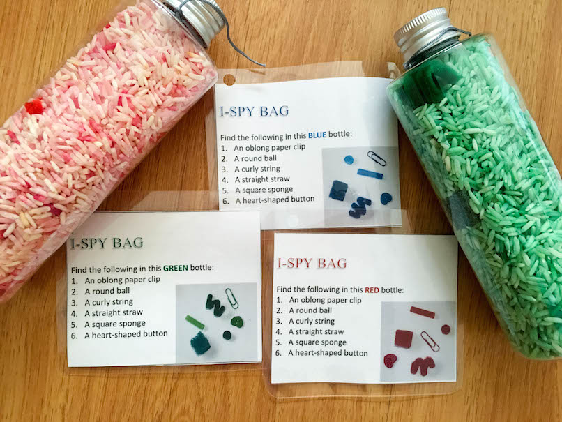 Keeping little one busy with busy bags (Part 2)