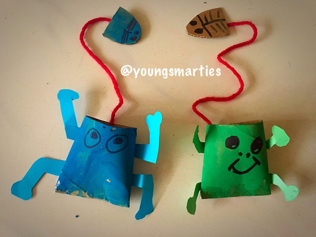 Letter F Frog Craft