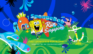 NICKELODEON'S SPONGEBOB RUN DEBUTS IN ASIA