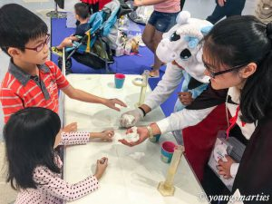 Experimenting science at Science Buskers Festival 2016