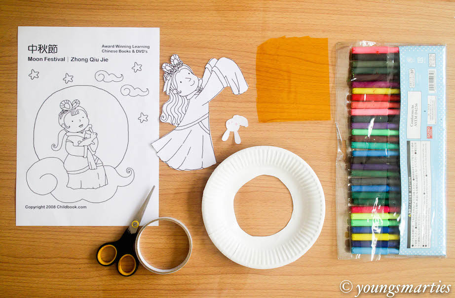 Craft time for Chinese Mid-Autumn Festival