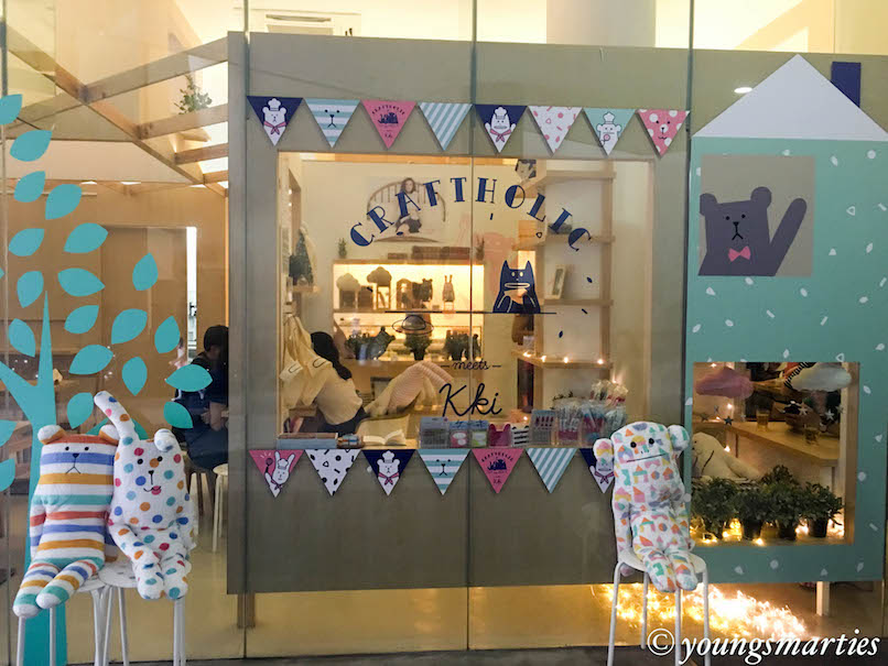 Our very first pop-up cafe adventure at Craftholic