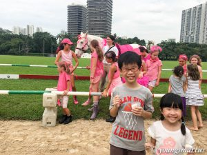 Learning about horses and more @ Singapore Polo Club