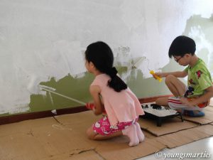 House painting by Smarties and its benefits
