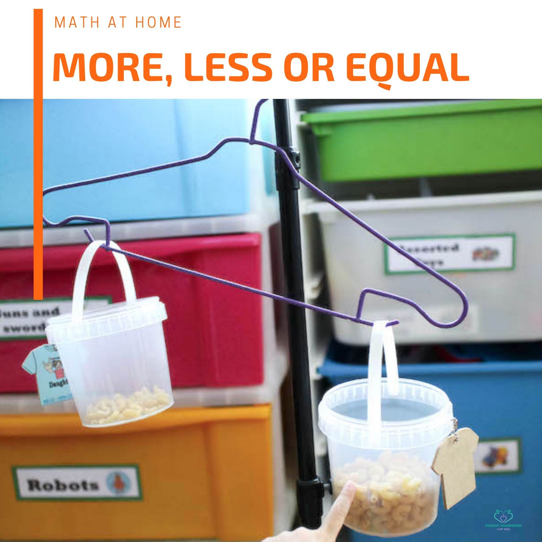 Math: More, Less or Equal