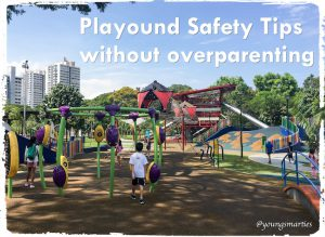 Playground safety for kids without overparenting