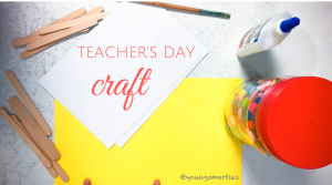 How to make homemade Teacher's Day card meaningfully and mindfully