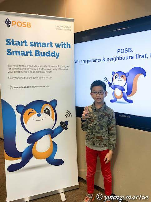 Smarty and his smart buddy watch