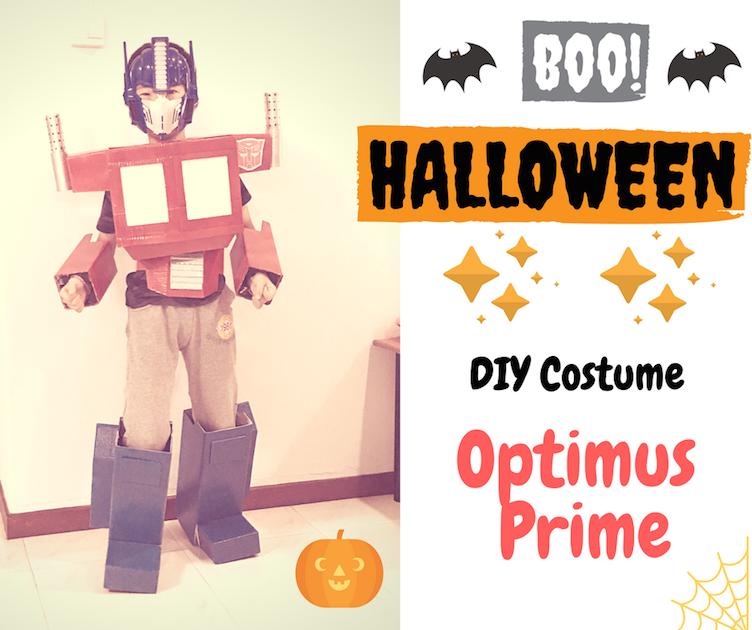 DIY Halloween Costume: Optimus Prime
