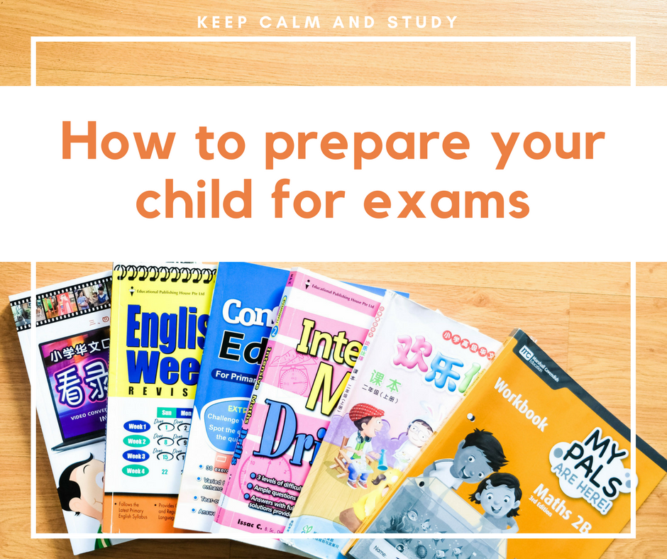 How to prepare your child for exams