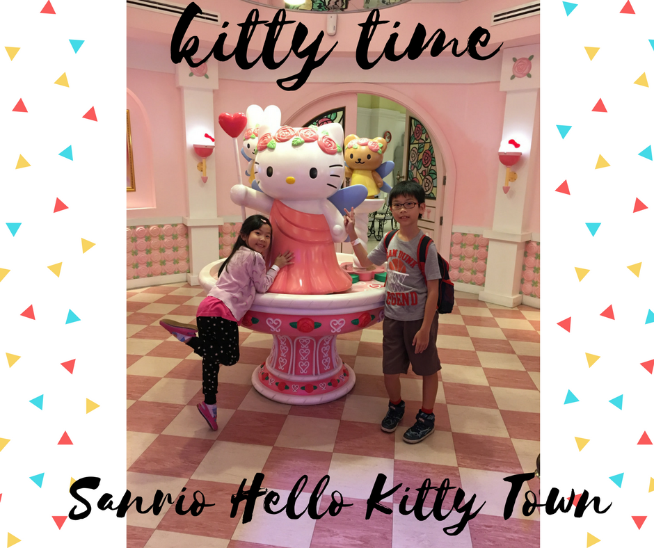 Kitty time @ Sanrio Hello Kitty Town