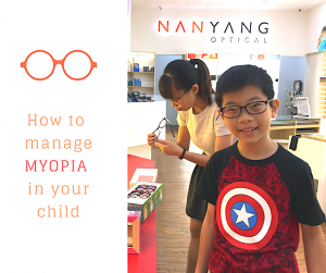 How to manage myopia in your child