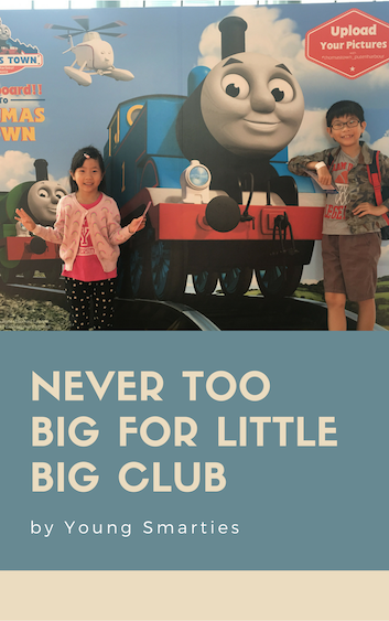 Never too big for Little Big Club