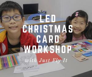 LED Christmas Card Making Workshop