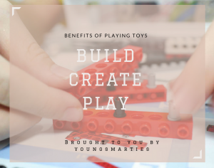 Benefits of playing with toys that let your child build, create and play