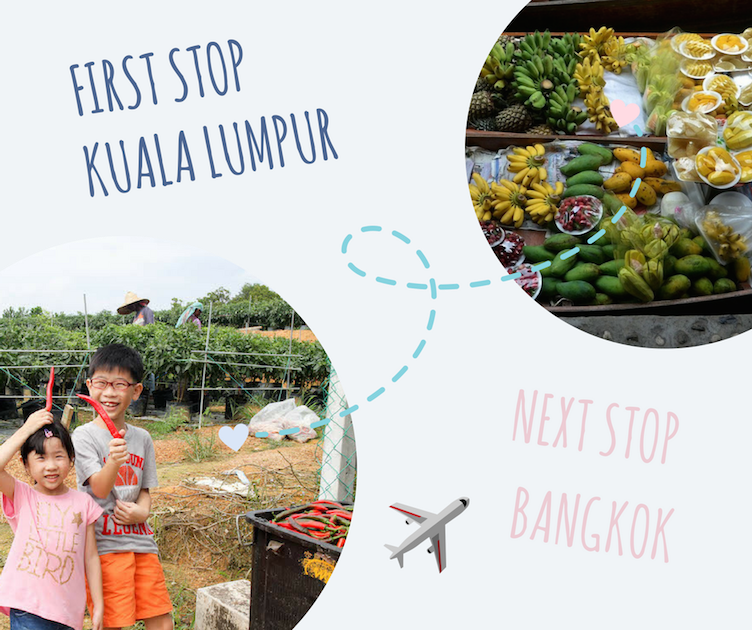First stop Kuala Lumpur, next stop Bangkok
