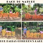 Back to nature at Jacob Ballas Children's Garden