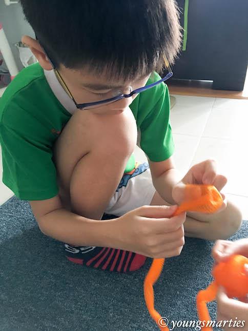 gor gor making oranges