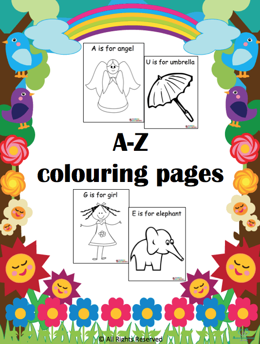 A-Z cover page