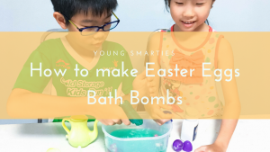 How to make Easter Eggs bath bombs