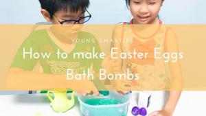 How to make Easter Eggs bath bombs