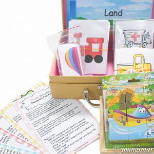Preschool Transport Themed Fun Pack