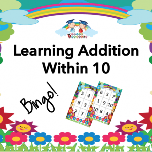 Bingo Game: Addition within 10