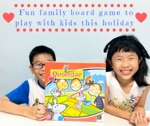 Fun family board game to play with kids this holiday – Quoridor