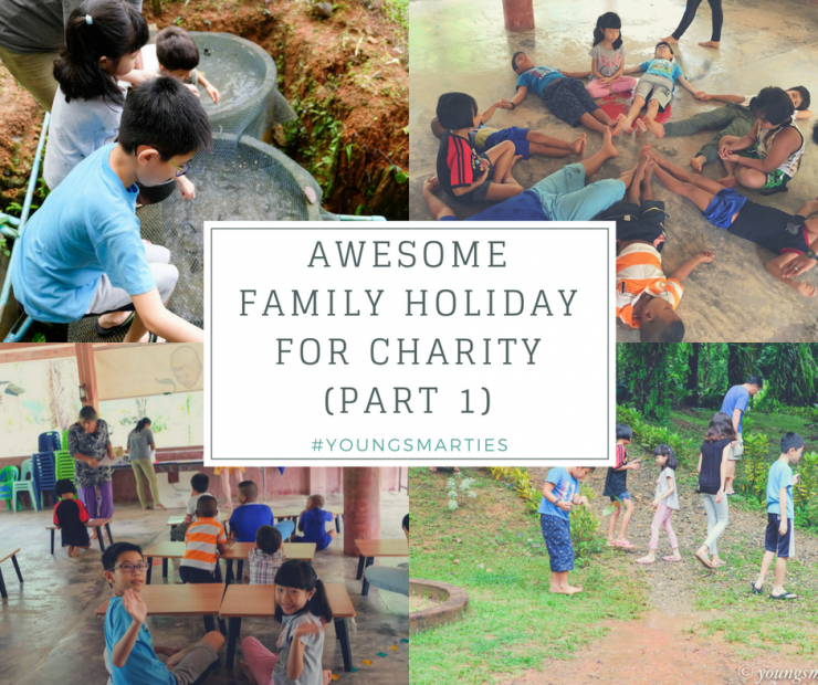 Awesome Family Holiday for Charity (Part 1)