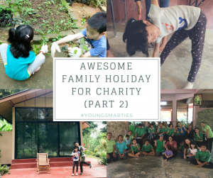 Awesome Family Holiday for Charity (Part 2)