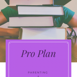 Parenting/Educational Coaching Pro Plan