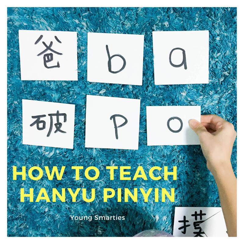 How to teach Hanyu Pinyin