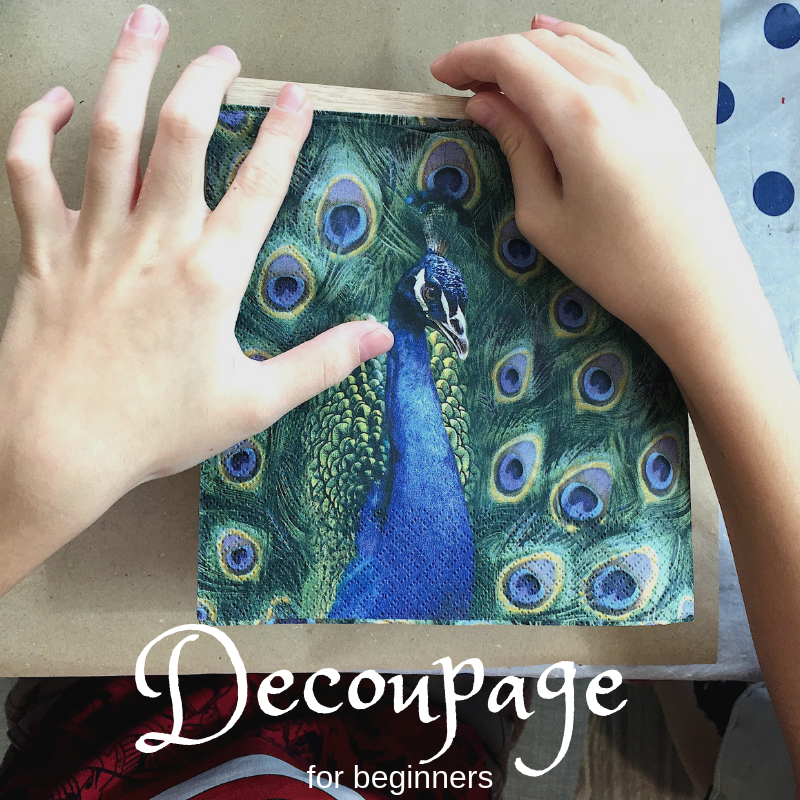 Decoupage for beginners