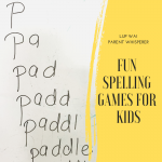 Fun spelling games for kids
