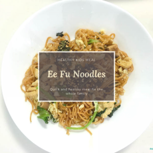 Braised Ee Fu Noodles Recipe