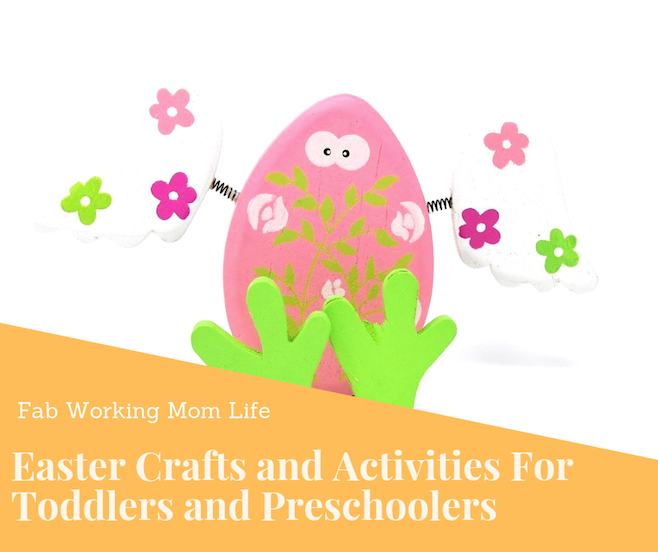 Easter crafts and activities for toddlers and preschoolers
