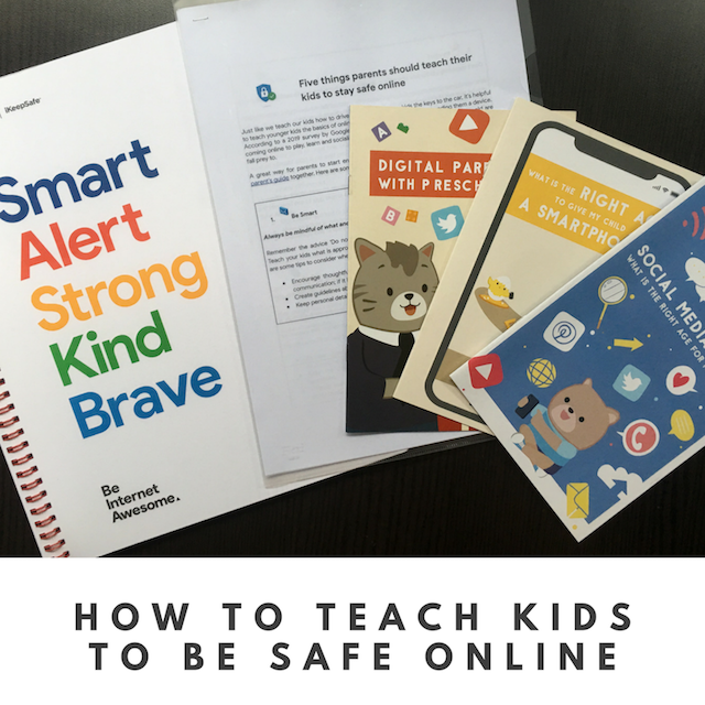How to teach kids to be safe online
