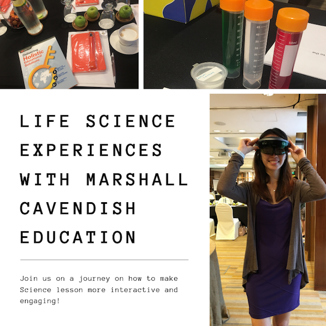 Life Science experiences with Marshall Cavendish Education