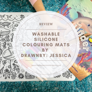 Review: Washable Silicone Colouring Mats by DrawnBy: Jessica
