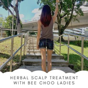 Herbal Scalp Treatment with Bee Choo Ladies