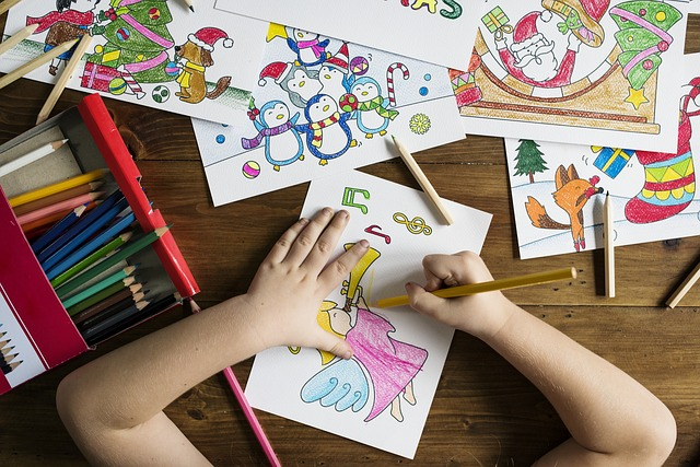 Colouring for mental and emotional health